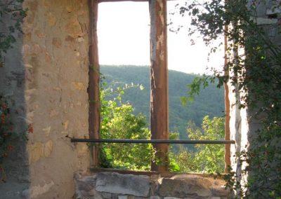 blickausburgruinenfenster