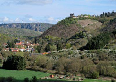 Altenbamberg mit Altenbaumburg