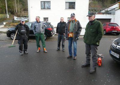Arbeitseinsatz Altenbamberger Geimeinderat Januar 2020_Foto2 Holger Conrad